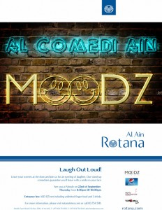 Comedy Night poster 50x70cm